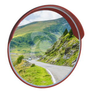 Дорожные зеркала с козырьком