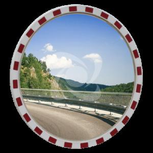 Дорожні  дзеркала зі світлоповертальною окантовкою