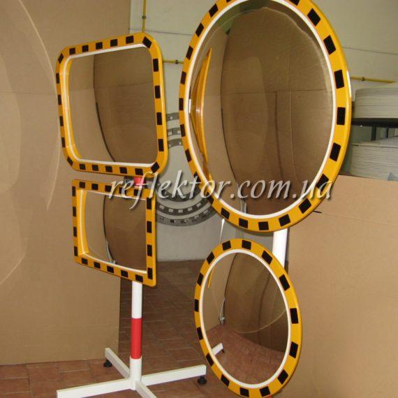индустриальные зеркала для безопасности на производстве в ассортименте