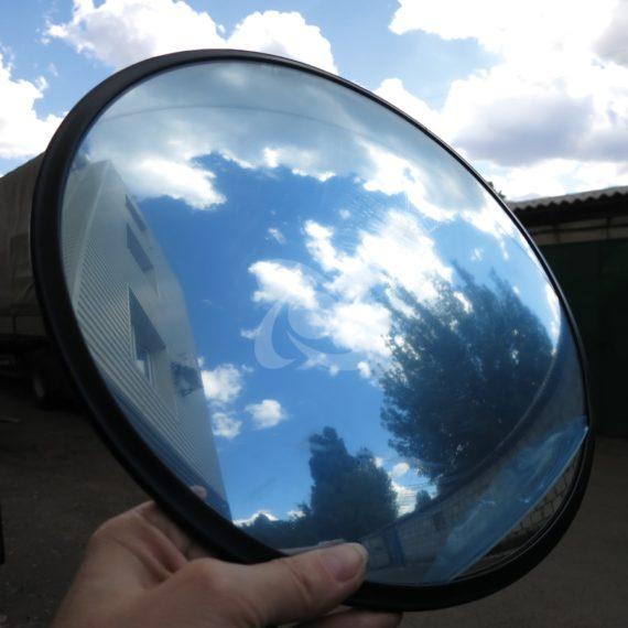 обзорное зеркало в защитной пленке для помещения