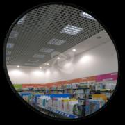 К400 сферическое обзорное зеркало для помещения