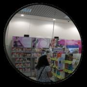 К500 оглядове протикрадіжне дзеркало в магазині