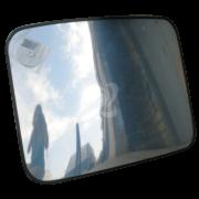 обзорное прямоугольное зеркало К600*800 в защитной пленке