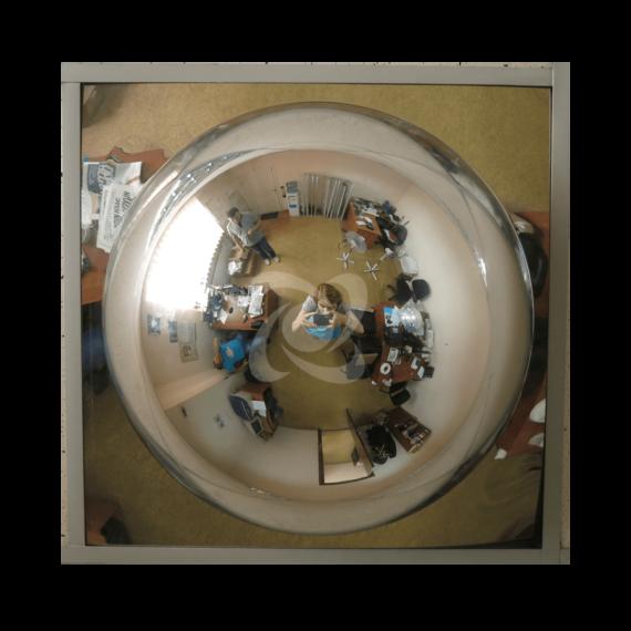 купольное зеркало 600/360 амстронг