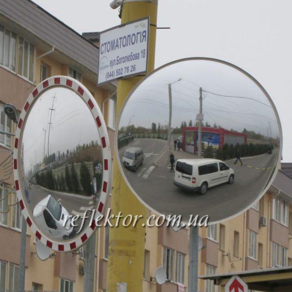 Дорожные зеркала на Т и Г перекрестках