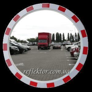 Дорожное зеркало со светоотражающей окантовкой MEGA 600