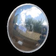 зеркало дорожное для наблюдения и надзора в защитной пленке