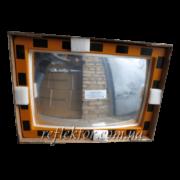 Прямокутне індустріальне дзеркало INDU в захисній плівці