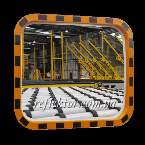 Прямоугольное промышленное зеркало INDU 400*600