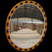 Индустриальное зеркало круглое INDU на производстве
