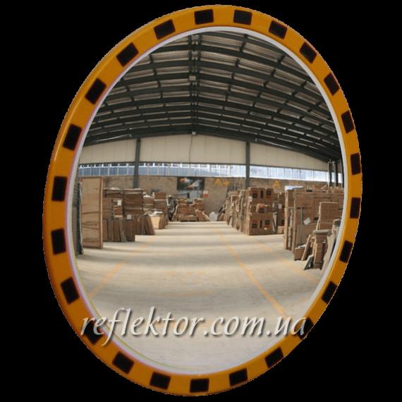 індустріальне дзеркало кругле INDU на виробництві