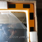 промышленное зеркало в пленке в упаковке