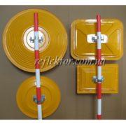 корпуси індустріальних дзеркал в асортименті круглі та прямокутні
