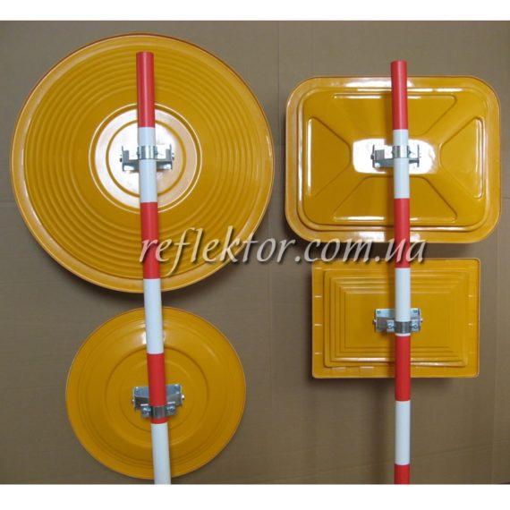 корпуса індустриальних дзеркал в асортименті круглі та прямокутні