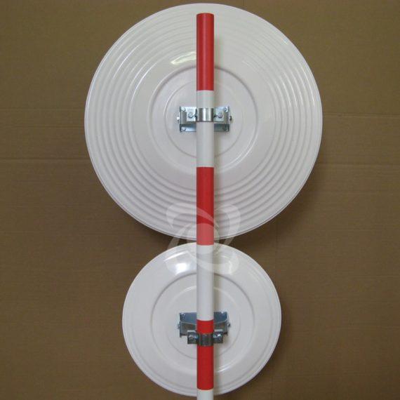 Порівняння корпусів дорожніх дзеркала без козирка діаметром 600 і 900мм