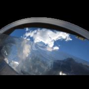 универсальное зеркало без козырька в защитной пленке и без