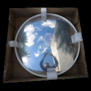 выпуклое акриловое дорожное зеркало в упаковке