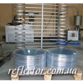 Виробництво опуклих сферичних дзеркал Мегапласт Кладно