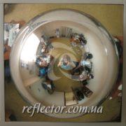 купольное зеркало Амстронг обзор в 4-х направлениях