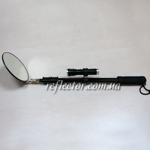 досмотровое зеркало с телескопической ручкой